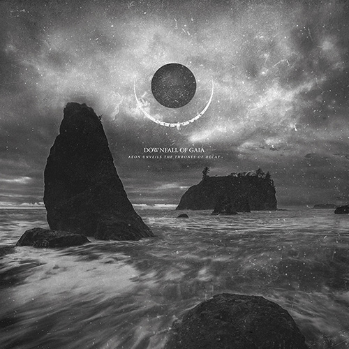 Downfall Of Gaia - Aeon Unveils The Thrones Of Decay - Cover
