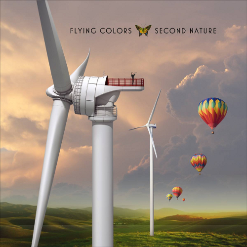 Flying Colors - Second Nature - Cover