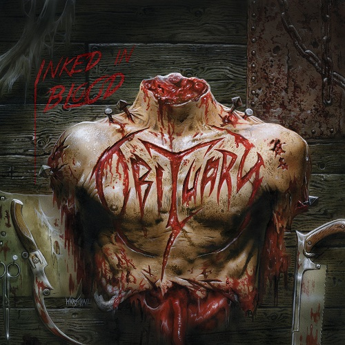 Obituary - Inked In Blood - Cover