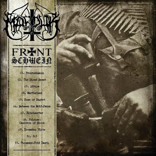 Marduk - Frontschwein - Cover
