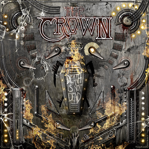 The Crown - Death Is Not Dead - Cover