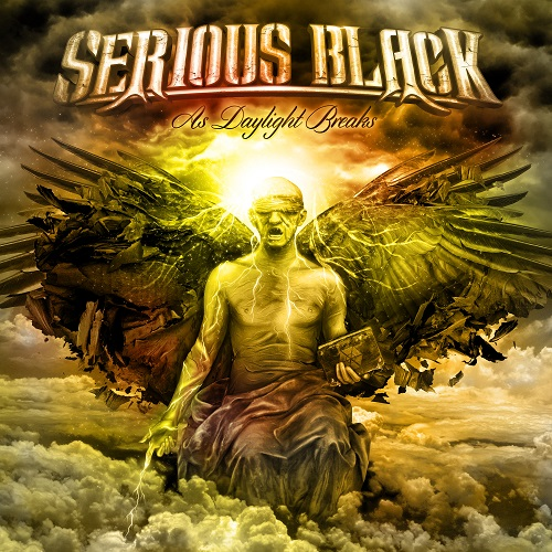 Serious Black - As Daylight Breaks - Cover