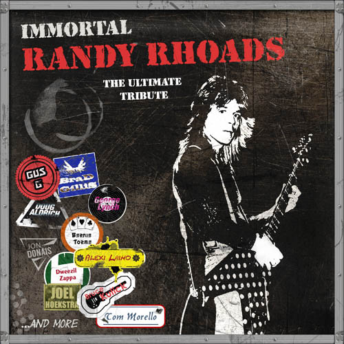 Various Artists - Immortal Randy Rhoads – The Ultimate Tribute - Cover