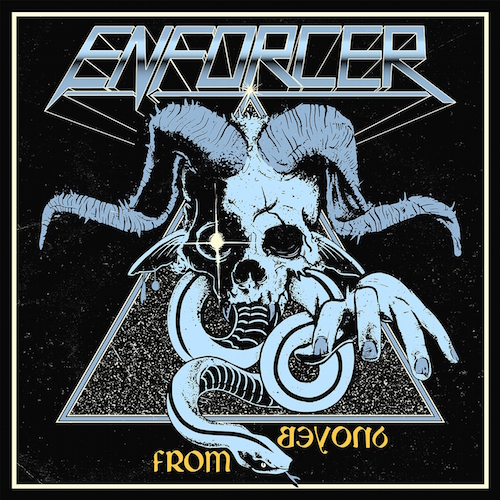 Enforcer - From Beyond - Cover