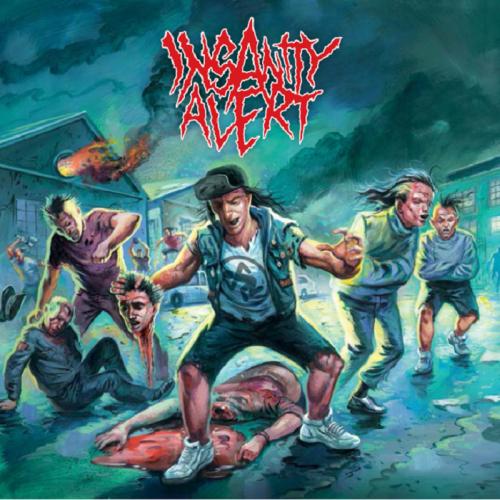 Insanity Alert - Insanity Alert - Cover
