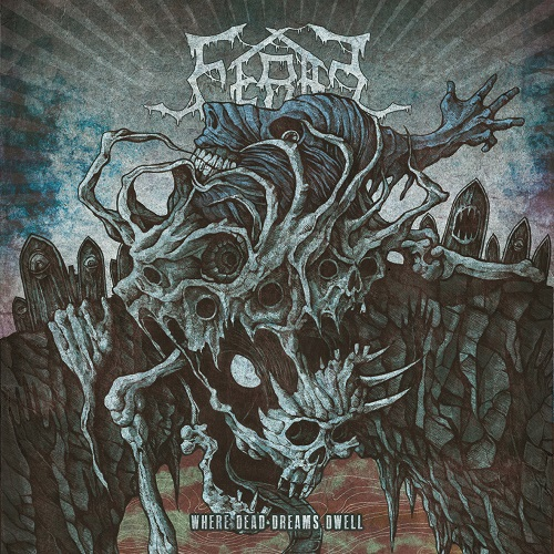 Feral - Where Dead Dreams Dwell - Cover