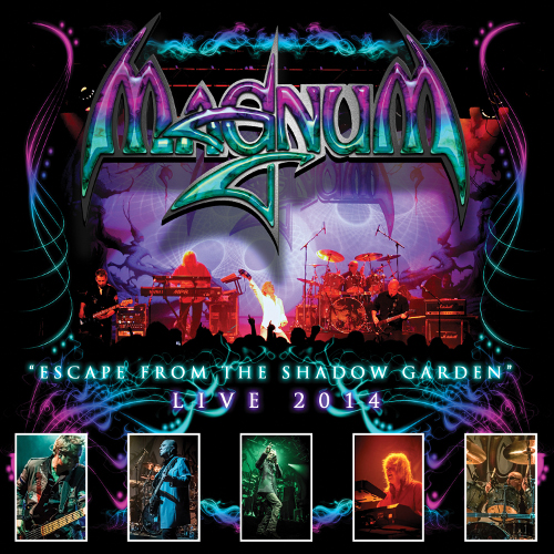 Magnum - Escape From The Shadow Garden Live 2014 - Cover