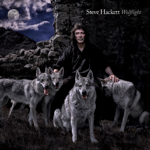 Steve Hackett - Wolflight - Cover