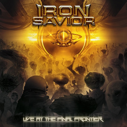 Iron Savior - Live At The Final Frontier - Cover