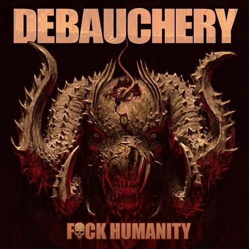 Debauchery - F**k Humanity - Cover