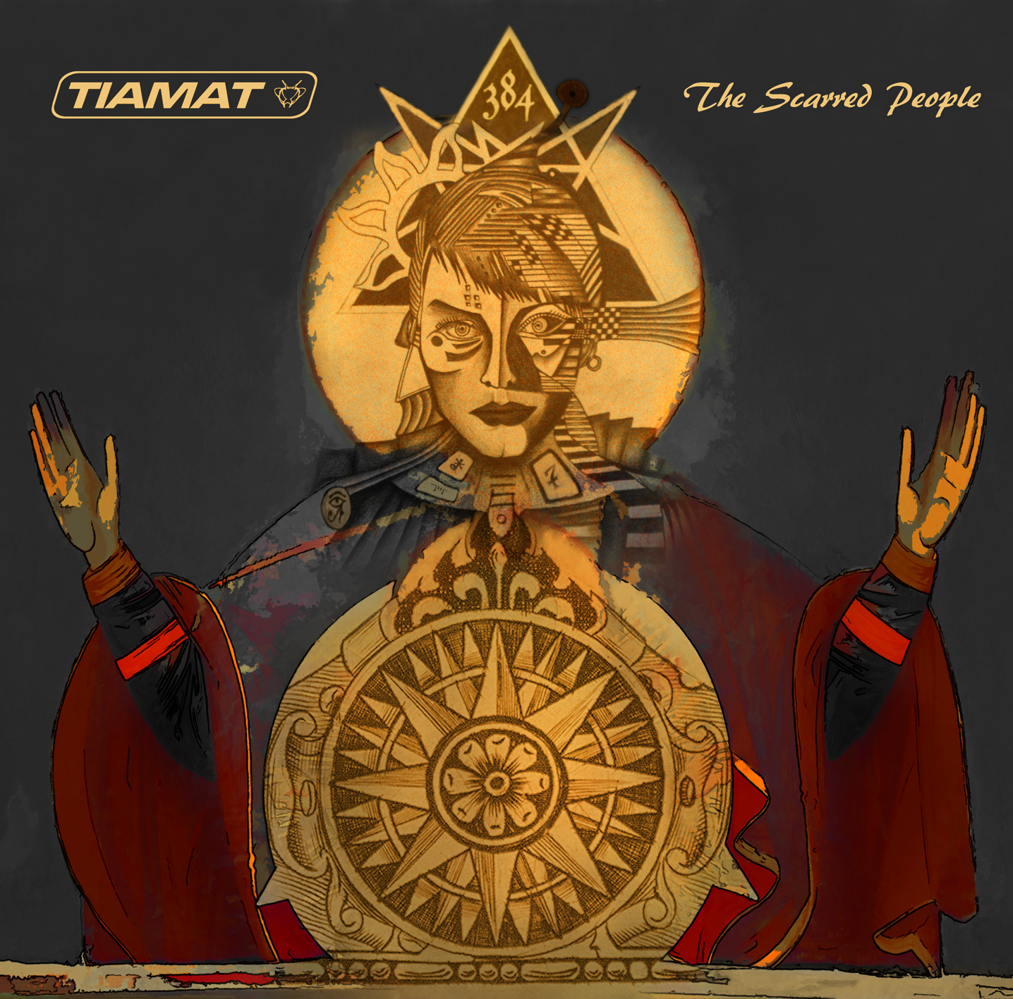 Tiamat - The Scarred People - Cover