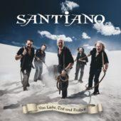 Santiano - Von Liebe, Tod und Freiheit - CD-Cover