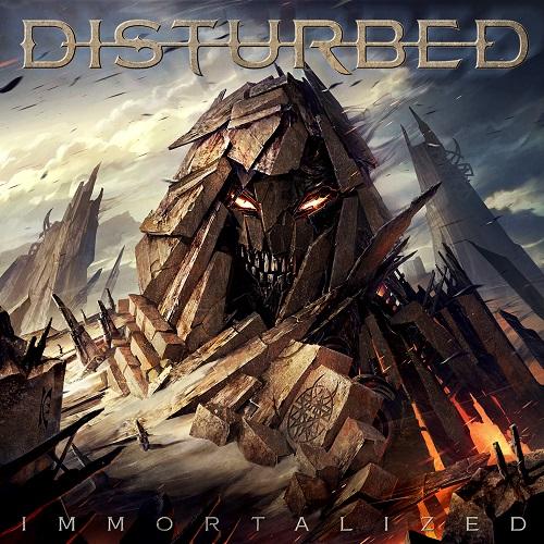 Disturbed - Immortalized - Cover