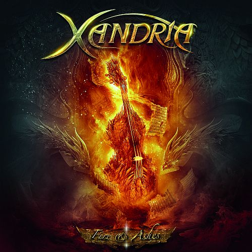 Xandria - Fire & Ashes - Cover