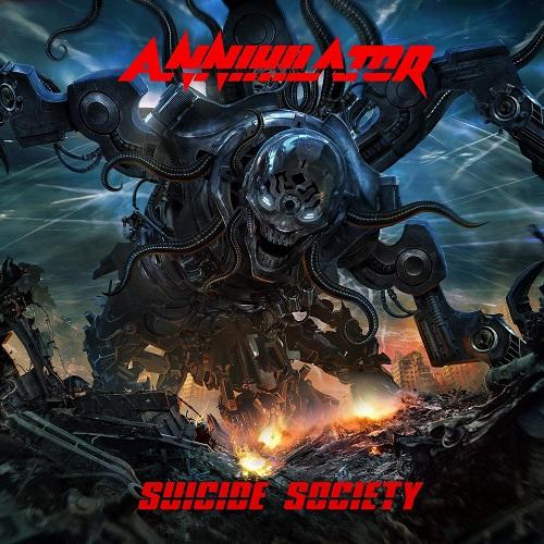 Annihilator - Suicide Society - Cover