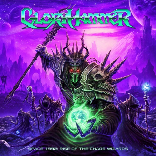 Gloryhammer - Space 1992: Rise Of The Chaos Wizards - Cover