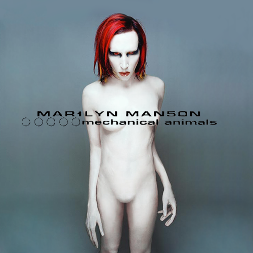 Marilyn Manson - Mechanical Animals - Cover