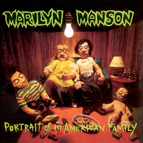 Marilyn Manson - Portrait Of An American Family - Cover