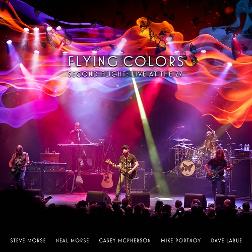 Flying Colors - Second Flight: Live At The Z7 - Cover
