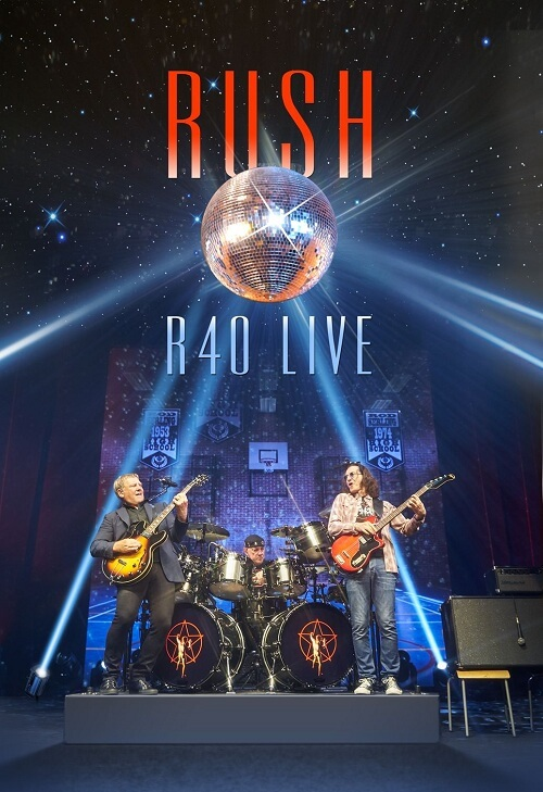Rush - R40 Live - Cover
