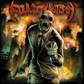Foul Body Autopsy - Perpetuated By Greed (EP) - CD-Cover