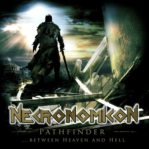 Necronomicon - Pathfinder … Between Heaven And Hell - Cover
