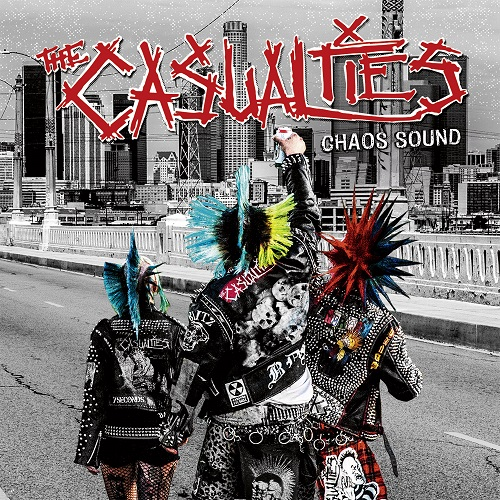 The Casualties - Chaos Sound - Cover