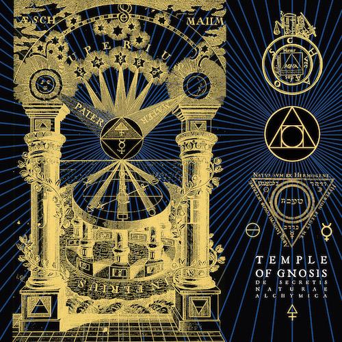Temple Of Gnosis - De Secretis Naturae Alchymica - Cover