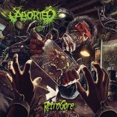 Aborted - Retrogore - CD-Cover
