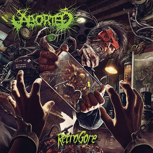 Aborted - Retrogore - Cover