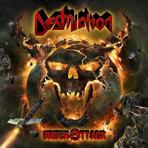 Destruction - Under Attack - Cover