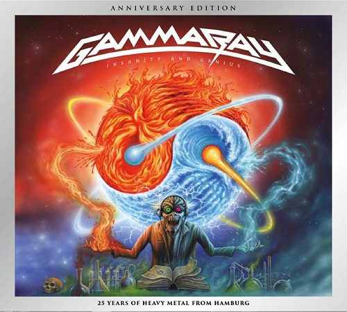 Gamma Ray - Insanity And Genius (Anniversary Edition) - Cover