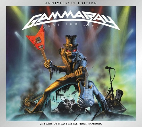 Gamma Ray - Lust For Live (Anniversary Edition) - Cover