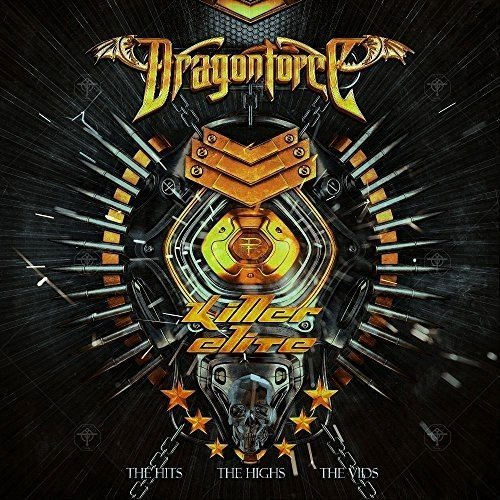 Dragonforce - Killer Elite - Cover
