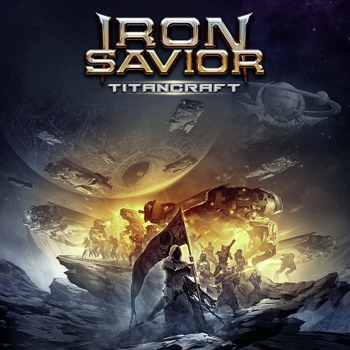 Iron Savior - Titancraft - Cover