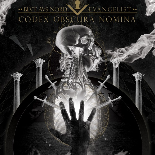 Blut Aus Nord / Ævangelist - Codex Obscura Nomina (Split) - Cover