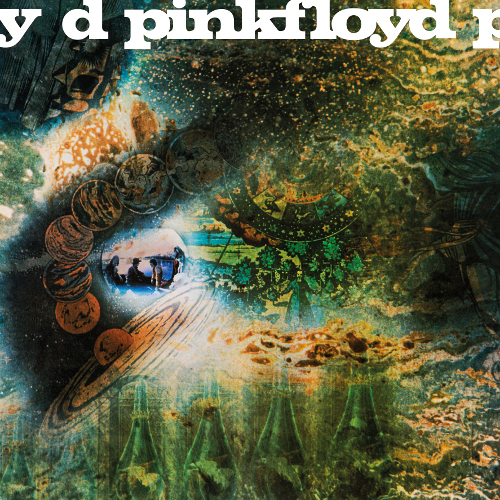 Pink Floyd - A Saucerful Of Secrets (Vinyl-Re-Release) - Cover