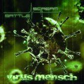 Battle Scream - Virus Mensch - CD-Cover