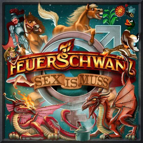 Feuerschwanz - Sex is Muss - Cover