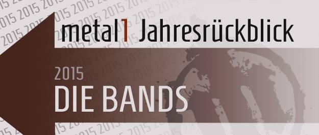 Rückblick Bands 2015